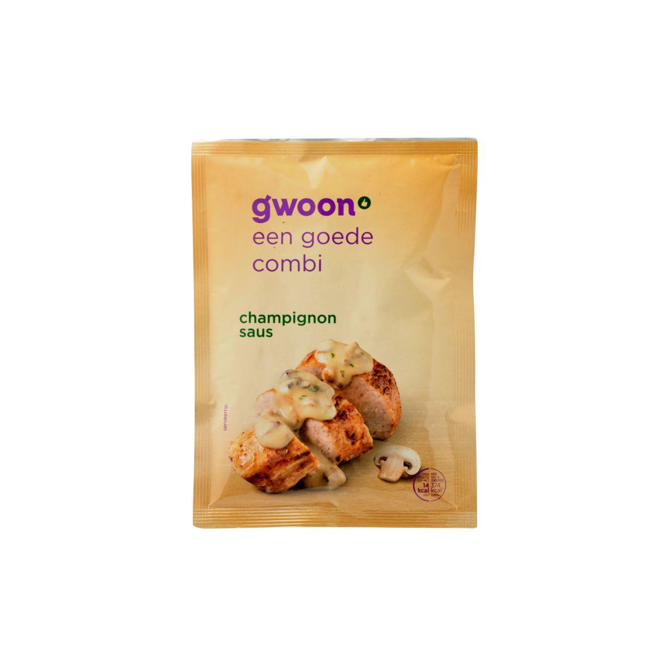 G'woon Mix Voor Champignonsaus