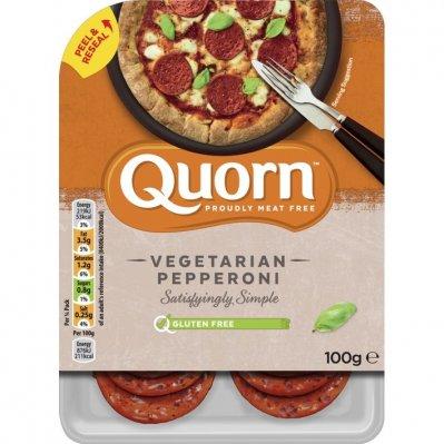 Quorn Vegetarian pepperoni