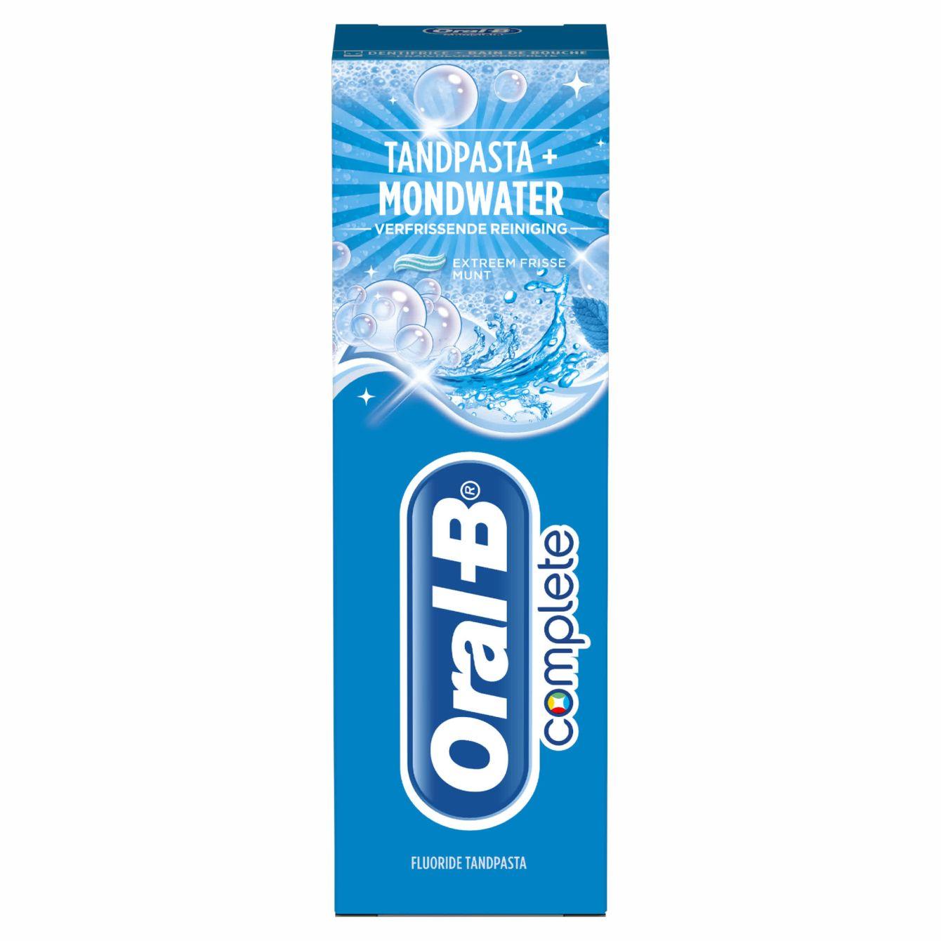 Oral B Tandpasta Pepermunt Refreshing Cleaner