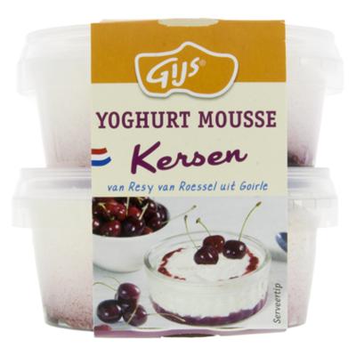GIJS Bavarois yoghurt-room kersen