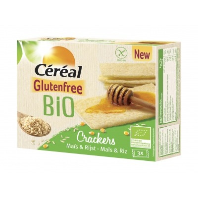Céréal Crackers mais en rijst
