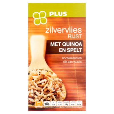 Huismerk Zilvervliesrijst met quinoa en spelt