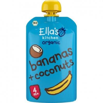 Ella's Kitchen Bananas + coconuts 4+ bio