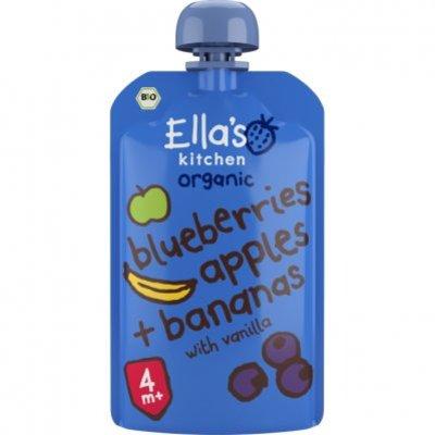 Ella's Kitchen Blueberries apples bananas 4+ bio