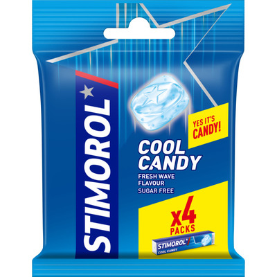 Stimorol Cool candy freshwave 4-pack