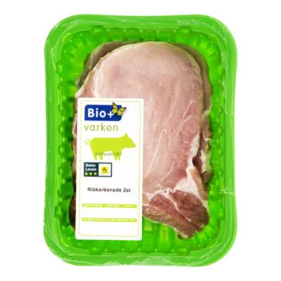 Bio+ Ribkarbonade 2 stuks