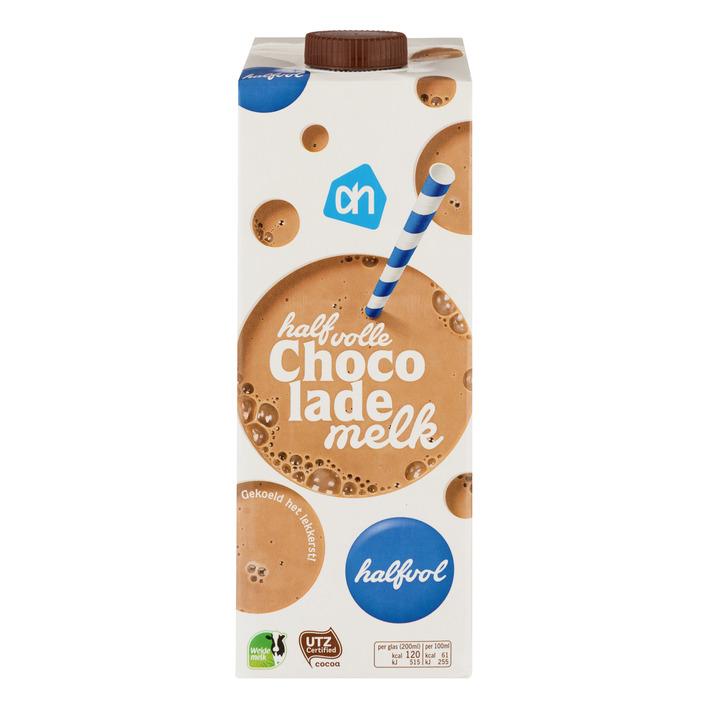 AH Chocolade drink halfvol