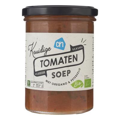 Huismerk Biologisch Kruidige tomatensoep