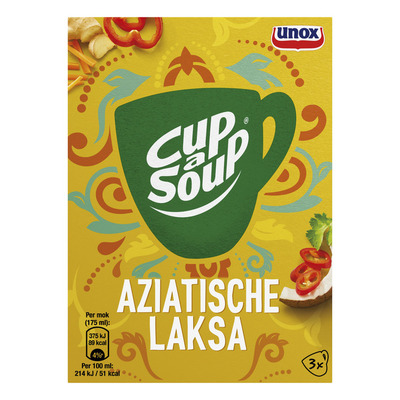 Unox Cup-a-soup Aziatische laksa