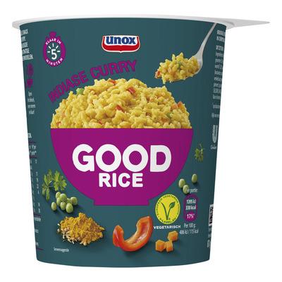 Unox Good rice rijst en Indiase curry