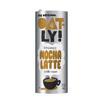 Oatly Coffee drink mocha latte