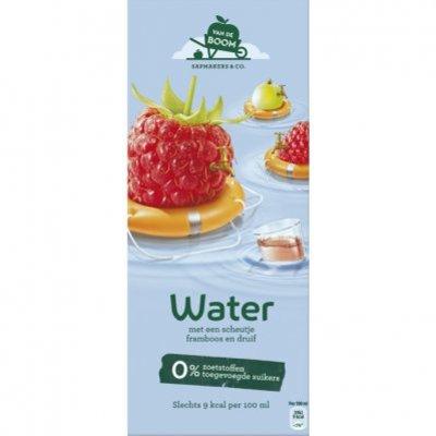 Van de Boom Fruitwater framboos