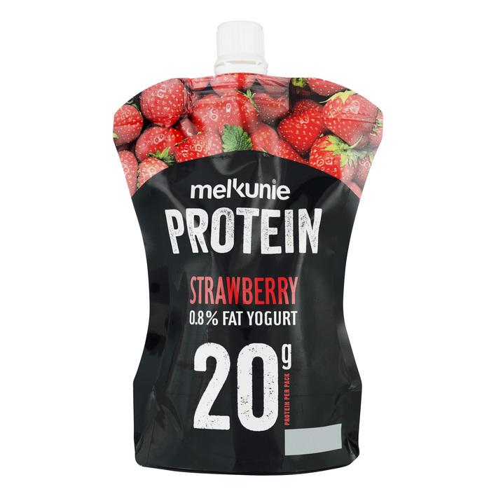 Melkunie Protein yoghurt aardbei