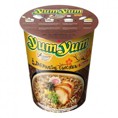 Yum Yum Japanese chicken cup instant noedels