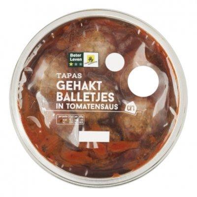 Huismerk Gehaktballetjes in tomatensaus