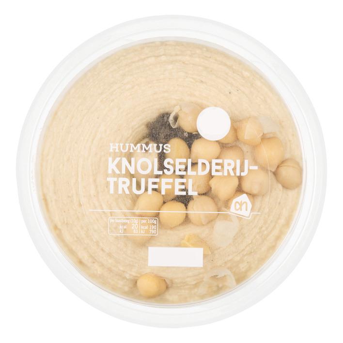 Huismerk Hummus knolselderij truffel