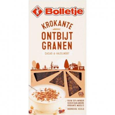 Bolletje Krokante ontbijtgranen cacao & hazelnoot