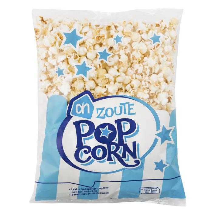 Huismerk Popcorn zout