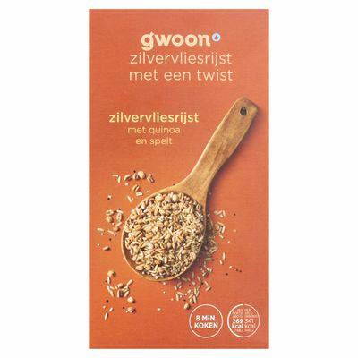 G'woon Zilvervliesrijst Quinoa + Spelt
