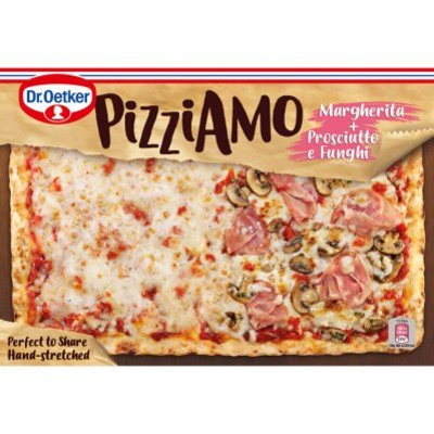 Dr. Oetker Pizza Margherita proscuitto funghi