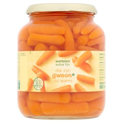 Huismerk wortelen extra fijn