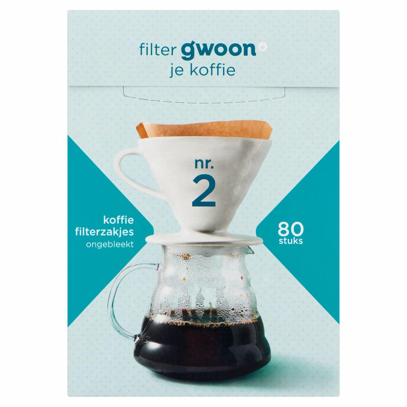 G'woon Filterzakjes Nr. 2