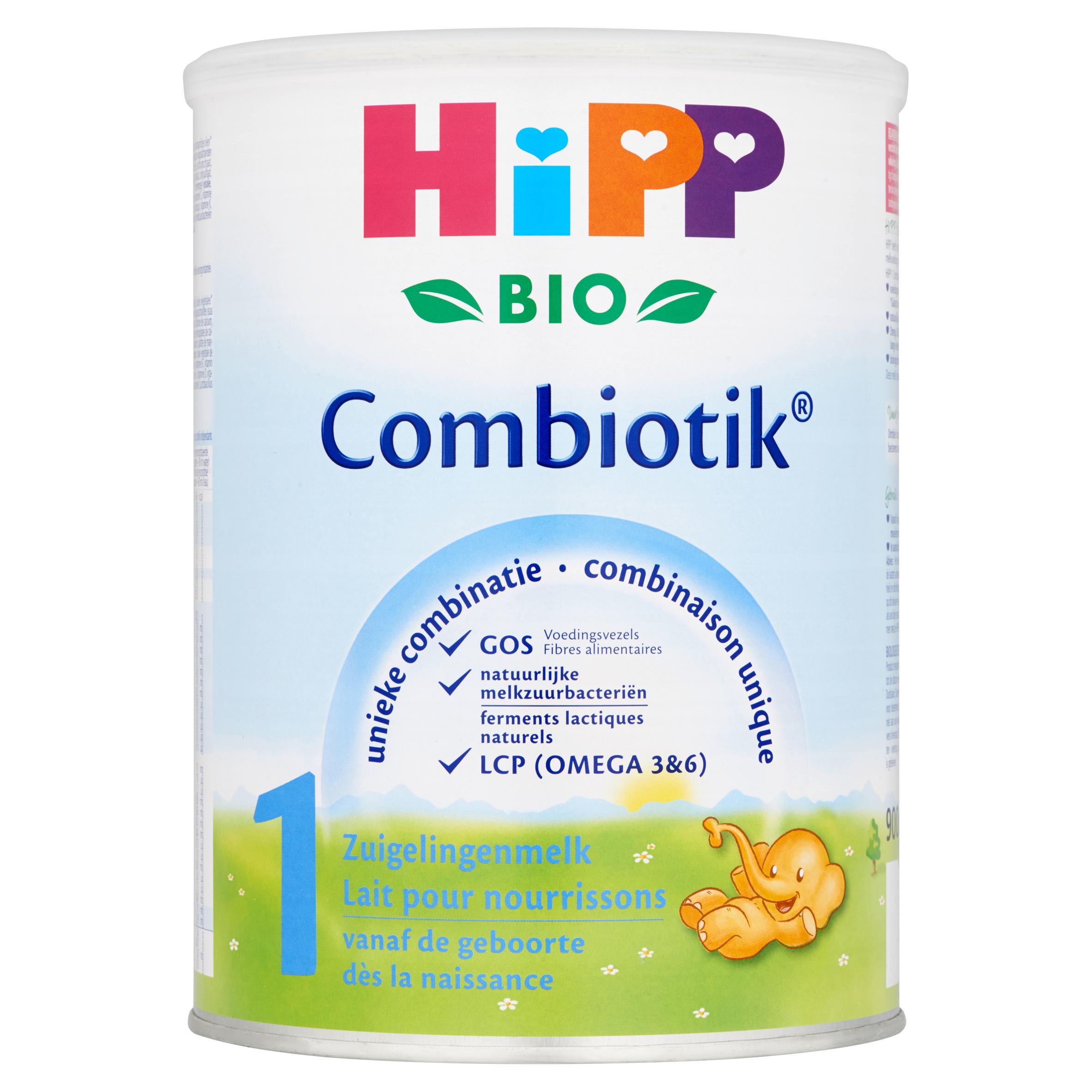 HiPP Biologisch Combiotik 1 Zuigelingenmelk vanaf de Geboorte 900 g
