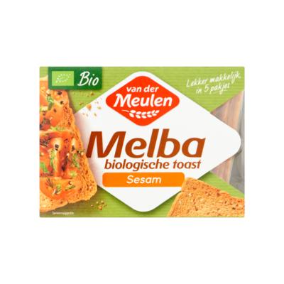 Van der Meulen Melba Biologische Toast Sesam