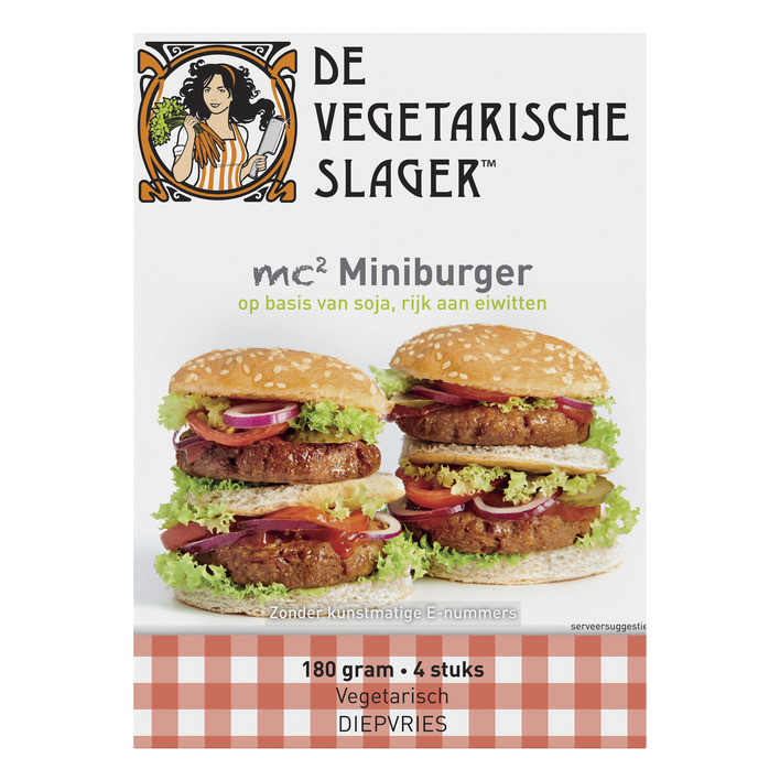 Vegetarische Slager MC2 miniburger