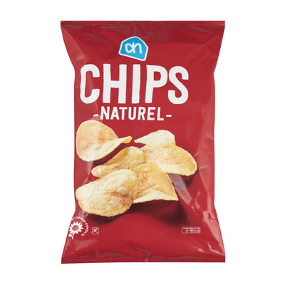 Huismerk Chips naturel