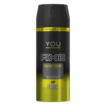 AXE Bodyspray Deodorant Clean Fresh