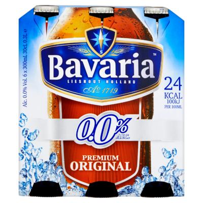 Bavaria 0.0% Alcoholvrij Bier 6 x 30 cl