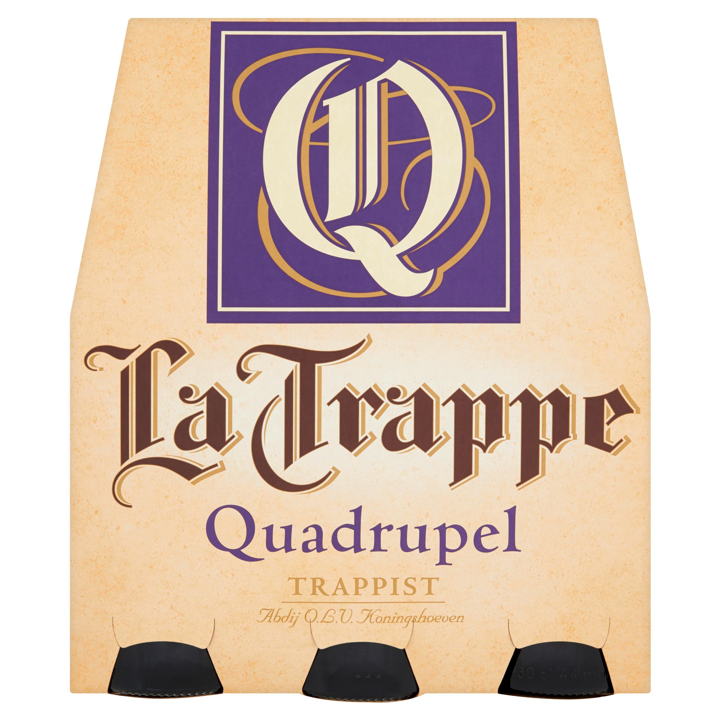 La Trappe Trappist Quadrupel Speciaalbier 6 x 30 cl