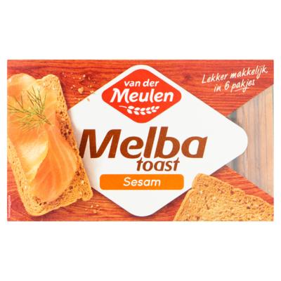 Van der Meulen Melba Toast Sesam 120 g