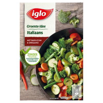 Iglo Groente-Idee Italiaans met Basilicum & Oregano 480 g