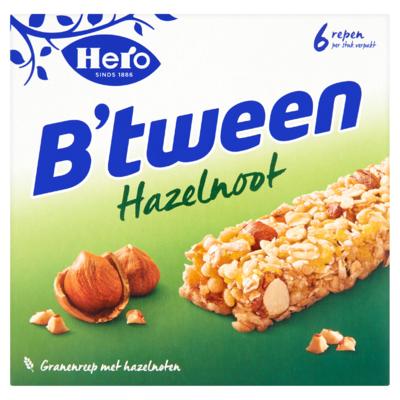 Hero B'tween Granenreep Hazelnoot 6 x 25 g