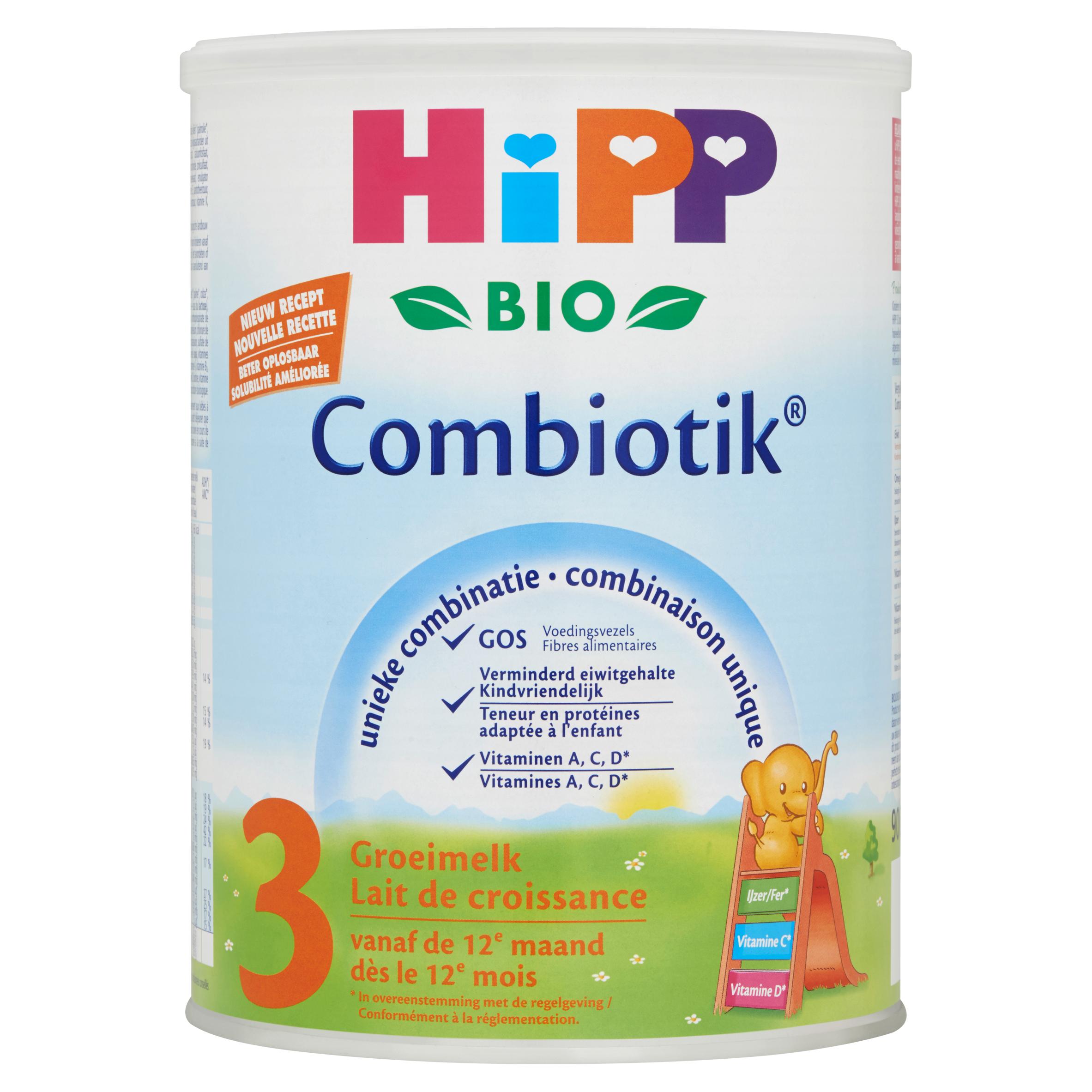 HiPP Biologisch Combiotik 3 Groeimelk vanaf de 12e Maand 900 g