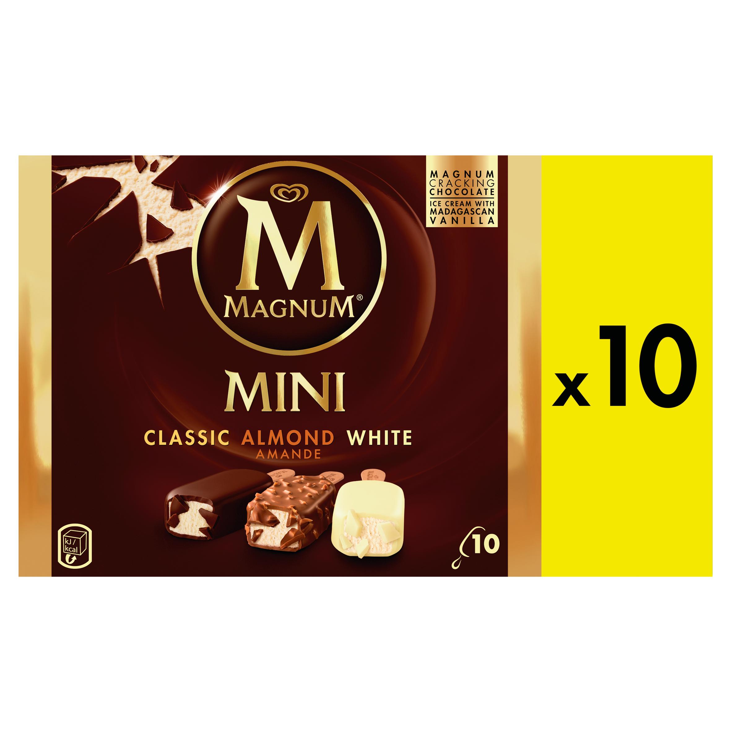 Magnum Mini Classic Almond White 10 Stuks