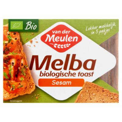 Van der Meulen Melba toast biologisch