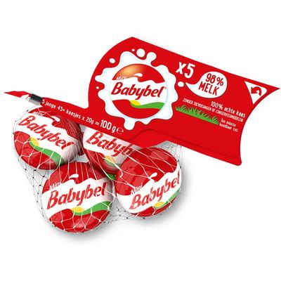 Babybel Mini's in netje 5