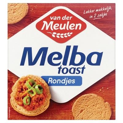 Van der Meulen Toast Melba toast rond