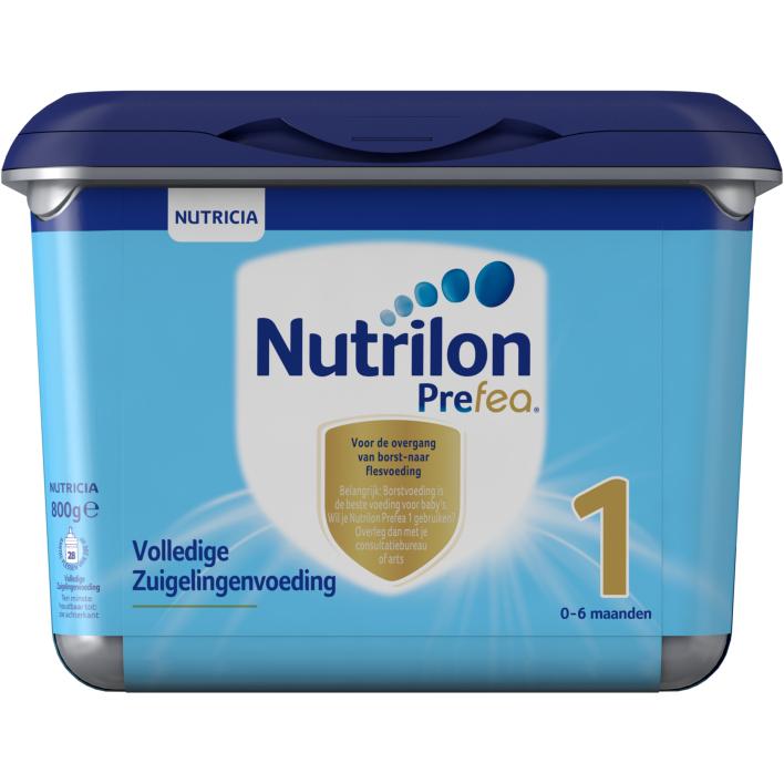 Nutrilon Prefea Volledige Zuigelingenvoeding 1