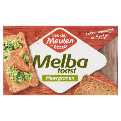 Van der Meulen Melba Toast Meergranen 120 g