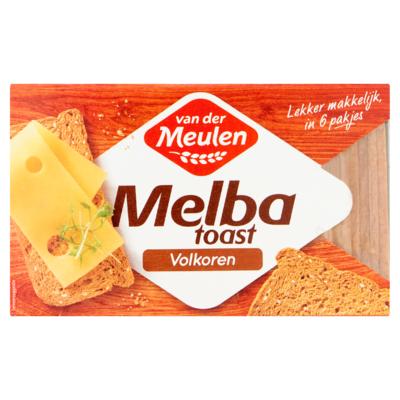 Van der Meulen Melba Toast Volkoren 120 g