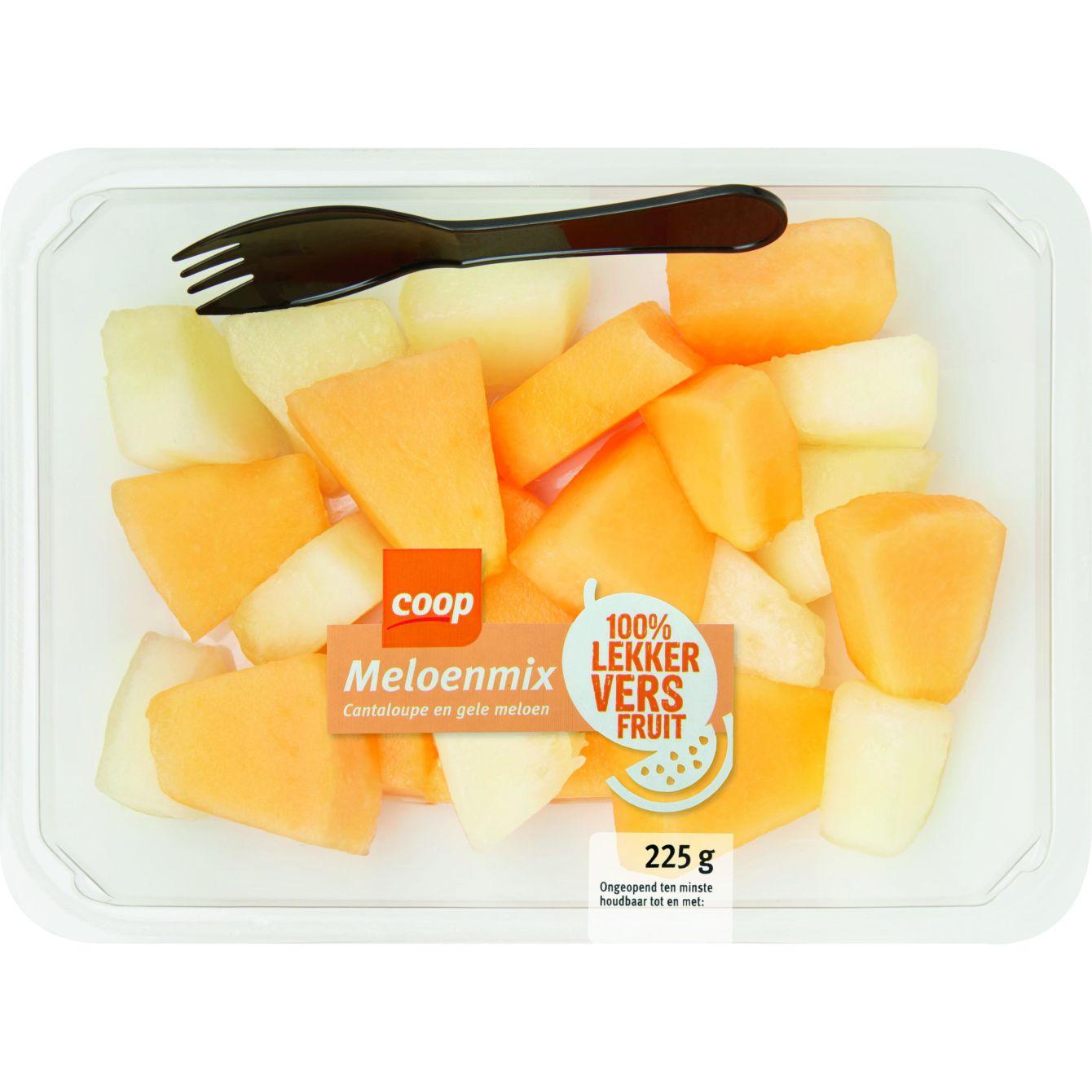 Meloenblokjes Mix