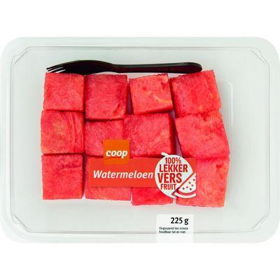 Watermeloenblokjes