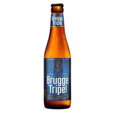 Brugge Tripel fles speciaal bier 8.7%