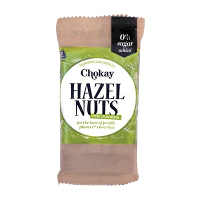 Chokay chocolade melk hazelnoot