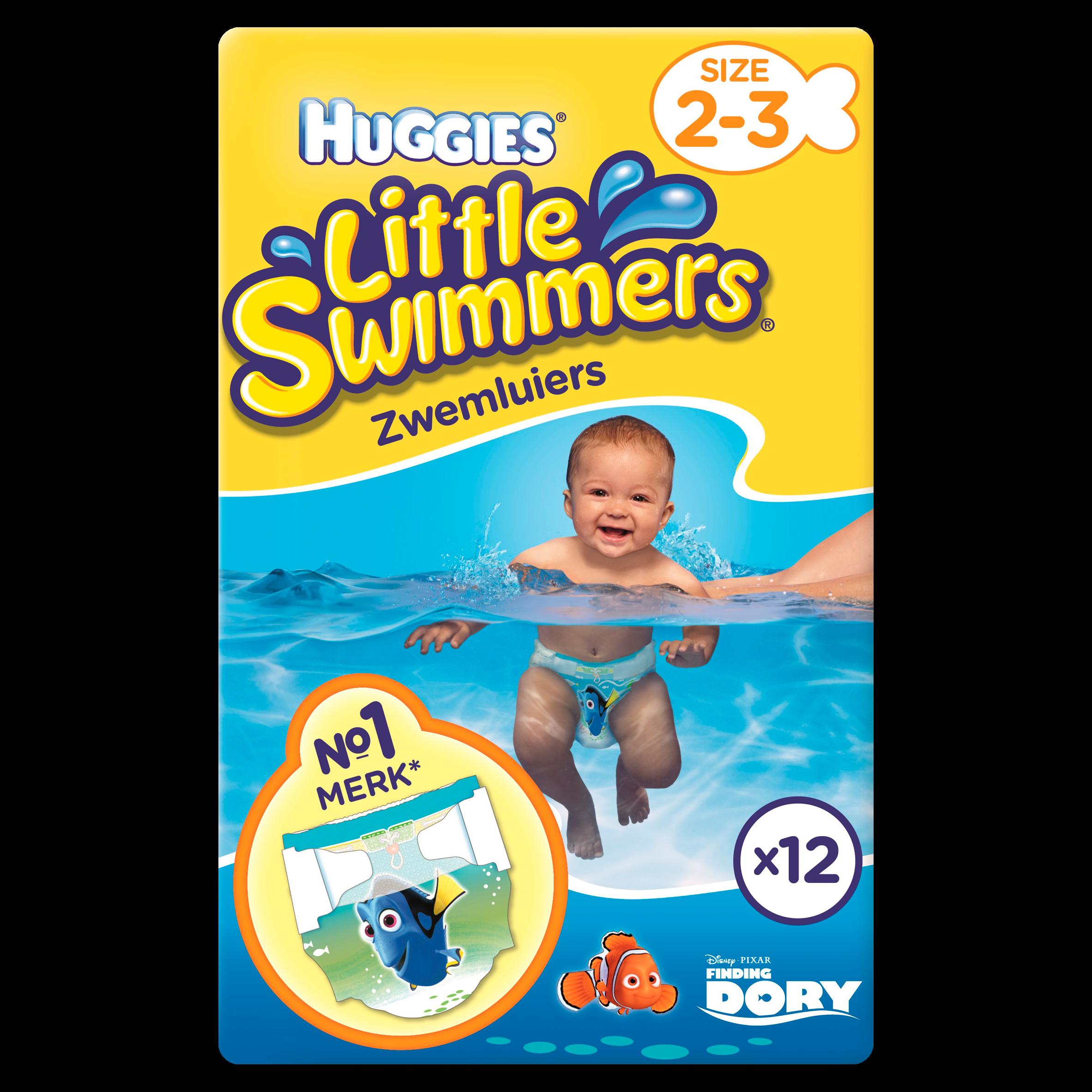 Huggies Little Swimmers Zwemluiers Maat 2-3 12 Stuks