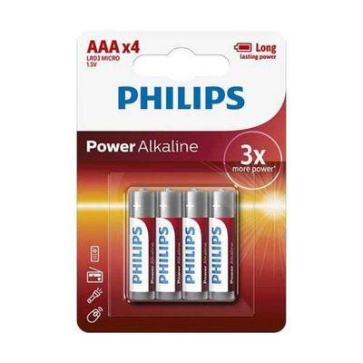 Philips Aaa Power Batterijen Lr03 Blister
